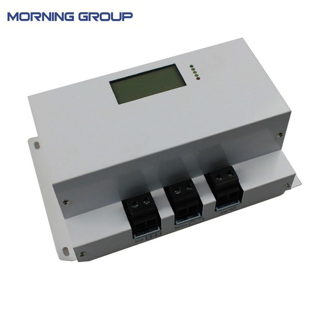 MPPT 12/24 В Авто 40A 50A 60a 70a 80A 100A солнечные панели Контроллер Заряда MPPT с ЖК дисплей дисплей для солнечной системы 48 В 96 В 120 В 240 В