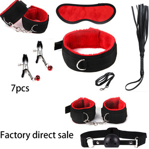 7pcs New bdsm bondage Set Restraints Adult Games Sex Toys for Couples Woman Slave Game SM Sexy Erotic Toys Handcuff Sm product