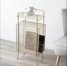 Nordic modern minimalist creative bookshelf