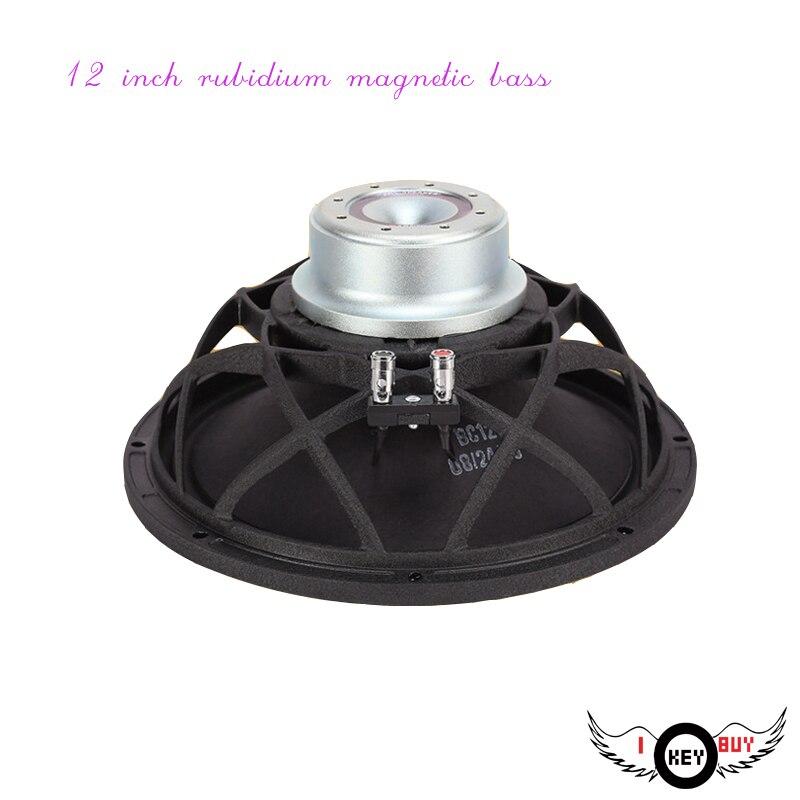 12 pouces 400 W Super puissance haut-parleur corne Rubidium haut-parleur de basse scène de divertissement à la maison dédié Subwoofer professionnel 8Ohm