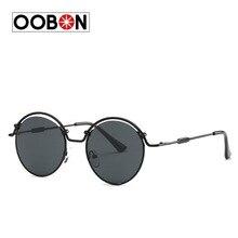 Ralferty Vintage Steampunk Goggles Round Sunglasses Women Men Brand Designer Retro Gothic Steam Punk Sun Glasses Shades lunette