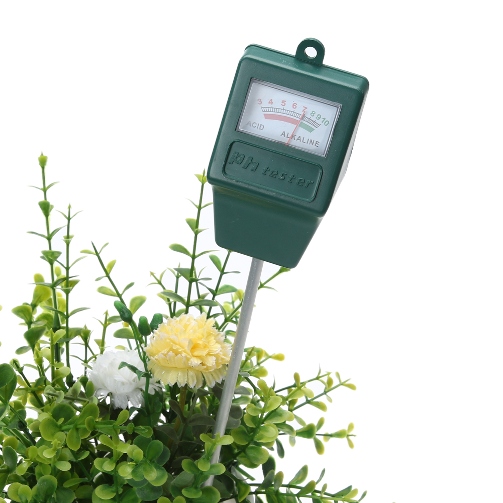 все цены на 3.0-10.0 Digital PH Meter Soil PH Level Meter Tester for Plants Flowers Vegetable Acidity Moisture PH Measurement Garden Tool онлайн