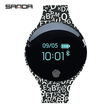 Childrens Smart Watch  SANDA SD02 Kids Bluetooth Bracelet Sport Smartwatch Calories Reminder Fitness for IOS Android