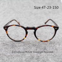 Vintage Oval Round Eye Glasses Frame Men Women OV5318 Eyeglasses Optical Frame Delray Oculos De Grau