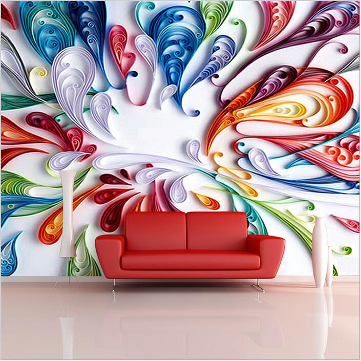 Customized Photo 3d Murals 3d Wallpapers Art Abstract 3d Wallpaper