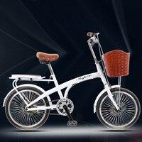 [Tb14] 20 дюймов для взрослых большой мальчик свет принцессы девочек леди с ребенком Досуг коммутируют односкоростной маленькое колесо велоси