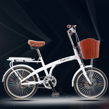 [tb14]20 inch adult big boy light girl princess lady with child leisure commute single speed small w