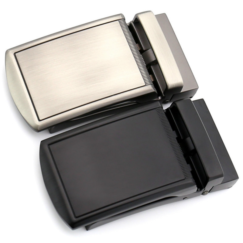 Men Metal Automatic Buckle For 3.5cm Ratchet Men Apparel Accessories Belt Buckles Luxury Fashion No Belt LY155-1352