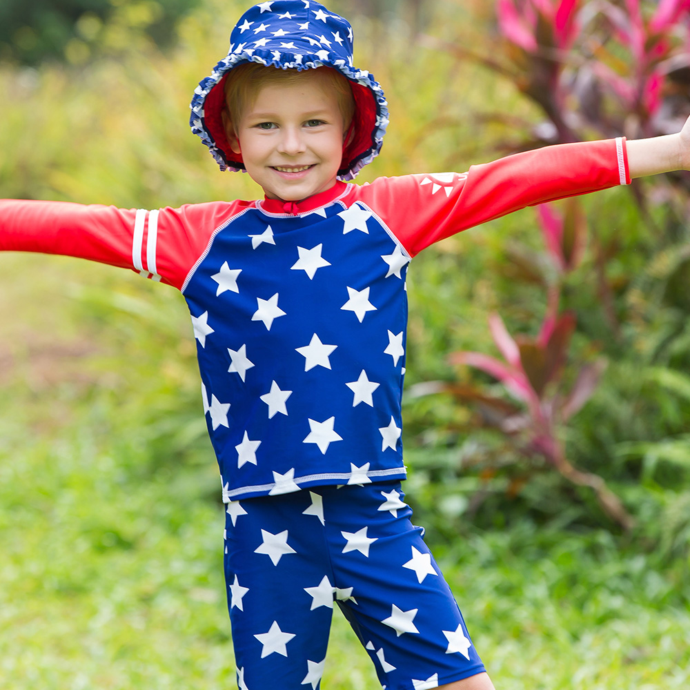 VIVOBINIYA Free shipping baby boy swimsuit UPF50+ kids Beach clothes ...