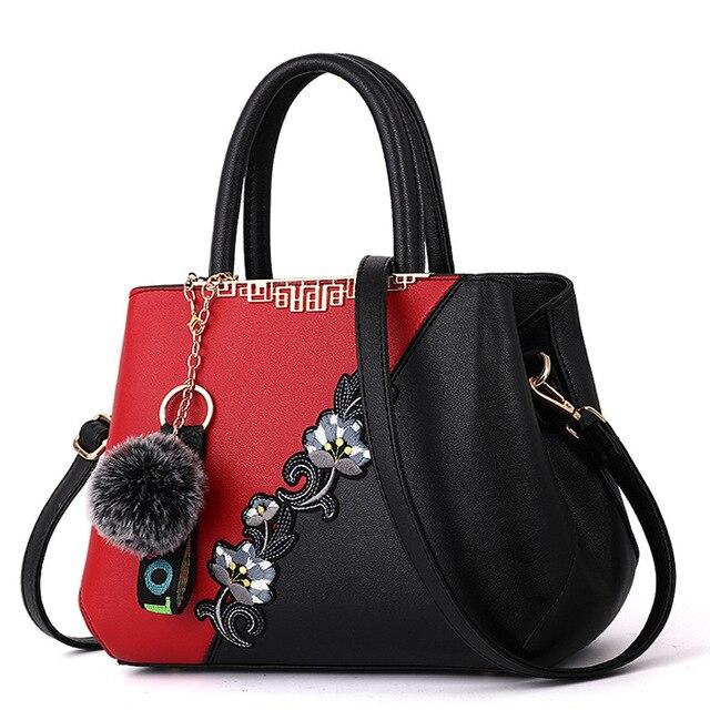 d1136f1c21d87e New Women Handbags Fashion Leather Handbags Designer Luxury Bags Shoulder  Bag Women Top-handle Bags