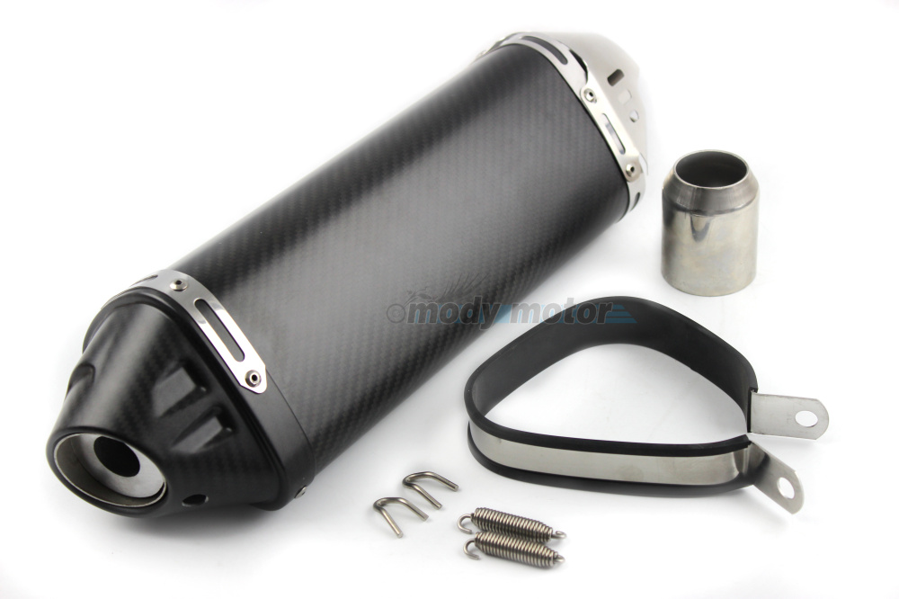 MGOD-51mm Universal Motorcycle Modified Exhaust Pipe Muffler For Yoshimura Real Carbon Fiber For Suzuki GSXR600 750 1000 With DB motorcycle accessories motorcycle muffler carbon fiber 50mm exhaust pipe fit for suzuki gsxr600 gsxr750 gsxr1000