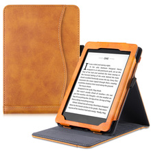BOZHUORUI Stand Case for Kindle Paperwhite eReader - Premium PU leather Multi-Viewing Hands Free Reading with Auto Sleep/Wake