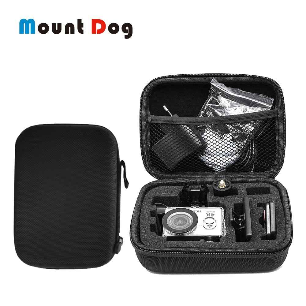 MountDog Storage Case Bag Box for GoPro Hero 7 6 5 Black Mini EVA Protective Box Mount for Go Pro Hero 7 6 5 Black Accessories