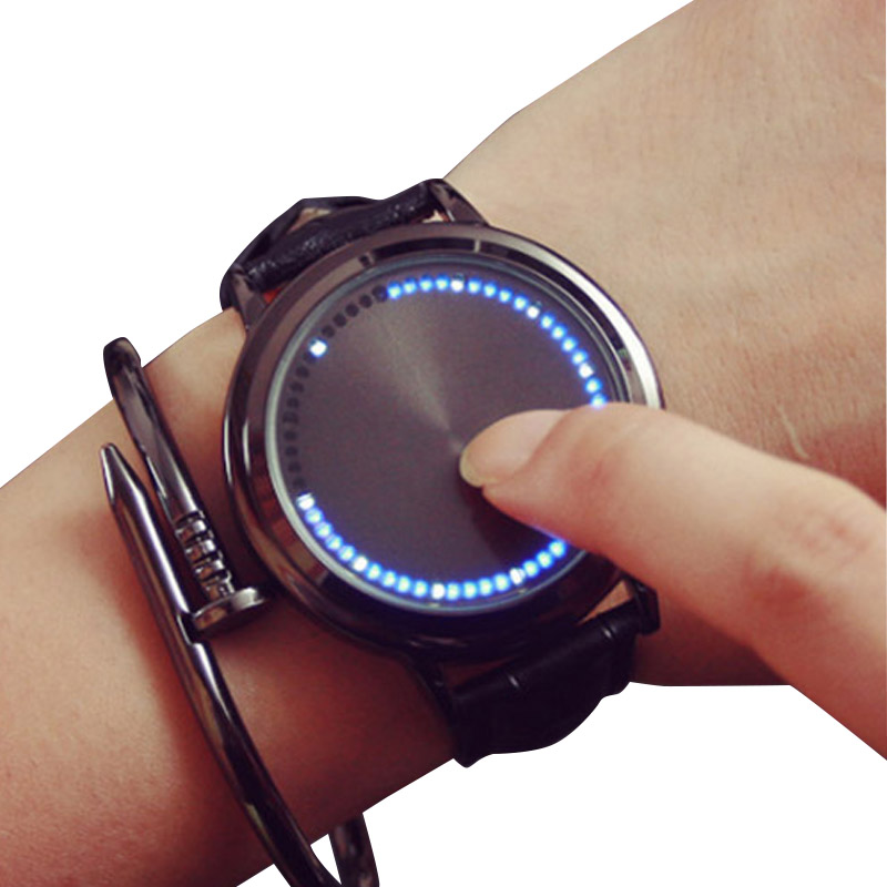 led watch black touch - photo #42
