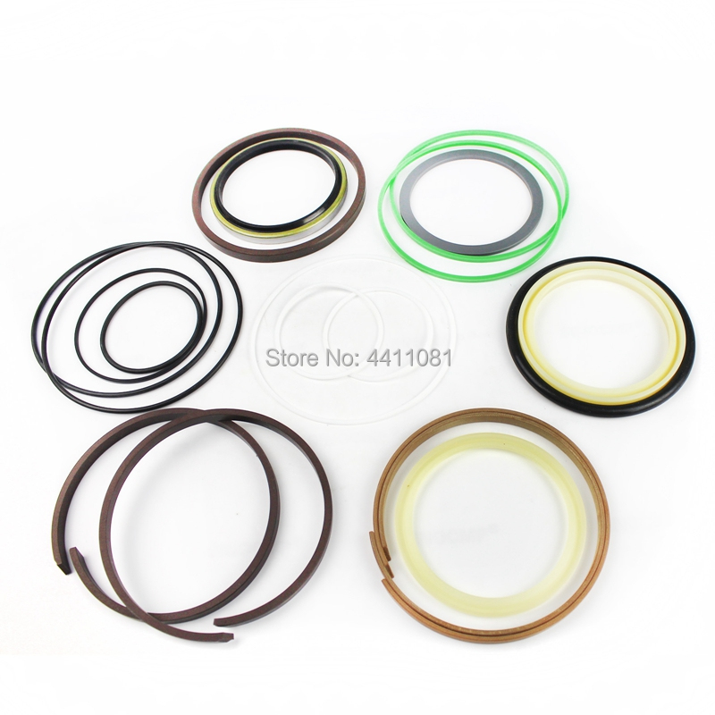 For Hyundai Robex R130-5 Bucket Cylinder Repair Seal Kit Excavator Gasket, 3 month warranty fits komatsu pc150 3 bucket cylinder repair seal kit excavator service gasket 3 month warranty