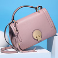 2016  Autumn And Winters Cow Leather Female Tote Bag Fashion New Style Solid Women Messenger Bags