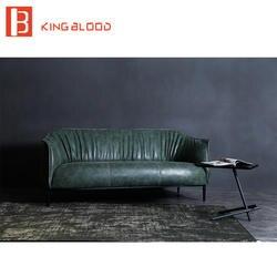 Современные комбинации цветов ткани лобби кожа гостиной для дивана