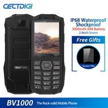 Blackview BV1000 IP68 водонепроницаемый ударопрочный прочный мобильный телефон 2,4 дюймов MTK6261 3000 мАч две sim-карты мини сотовый телефон фонарик