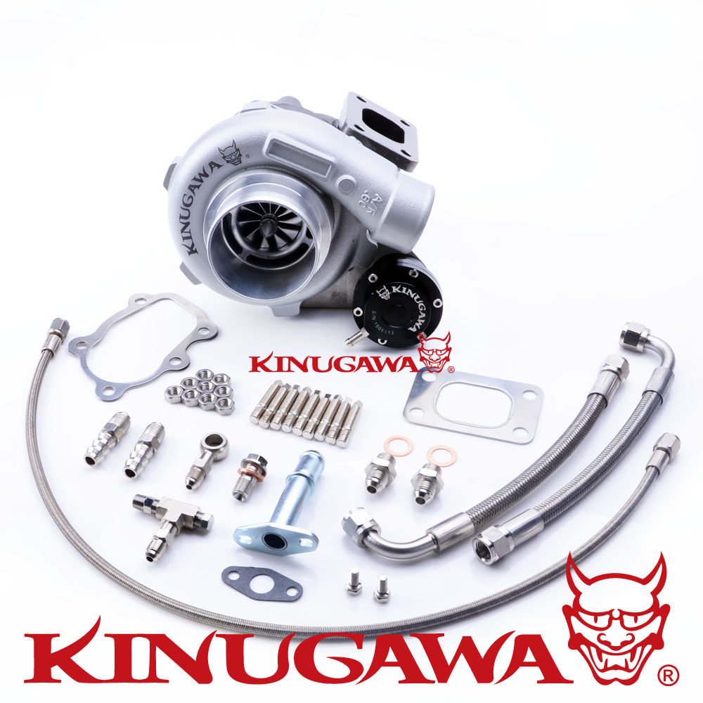 Kinugawa turbocompresseur à roulement à billes 3 Anti-surtension GTX2860R T25 5 boulon interne
