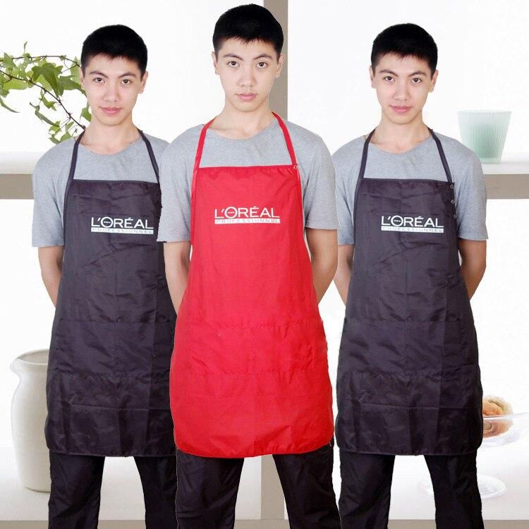 Professionele mode kapsalon schort waterdichte kleding, 3 kleuren beschikbaar Salon werkende schort voor kappers OLYA-9