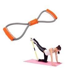 Body slimming Products massager belt body shaper slimming massage Belt Resistance Fitness Tube Rope Set 8