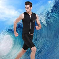 Água Esporte 3mm Das Mulheres Dos Homens de Colete de Neoprene Mergulho Surf Quente Swimwear Natação Mergulho Wetsuit Dois-Peça Separa Terno Rashguard