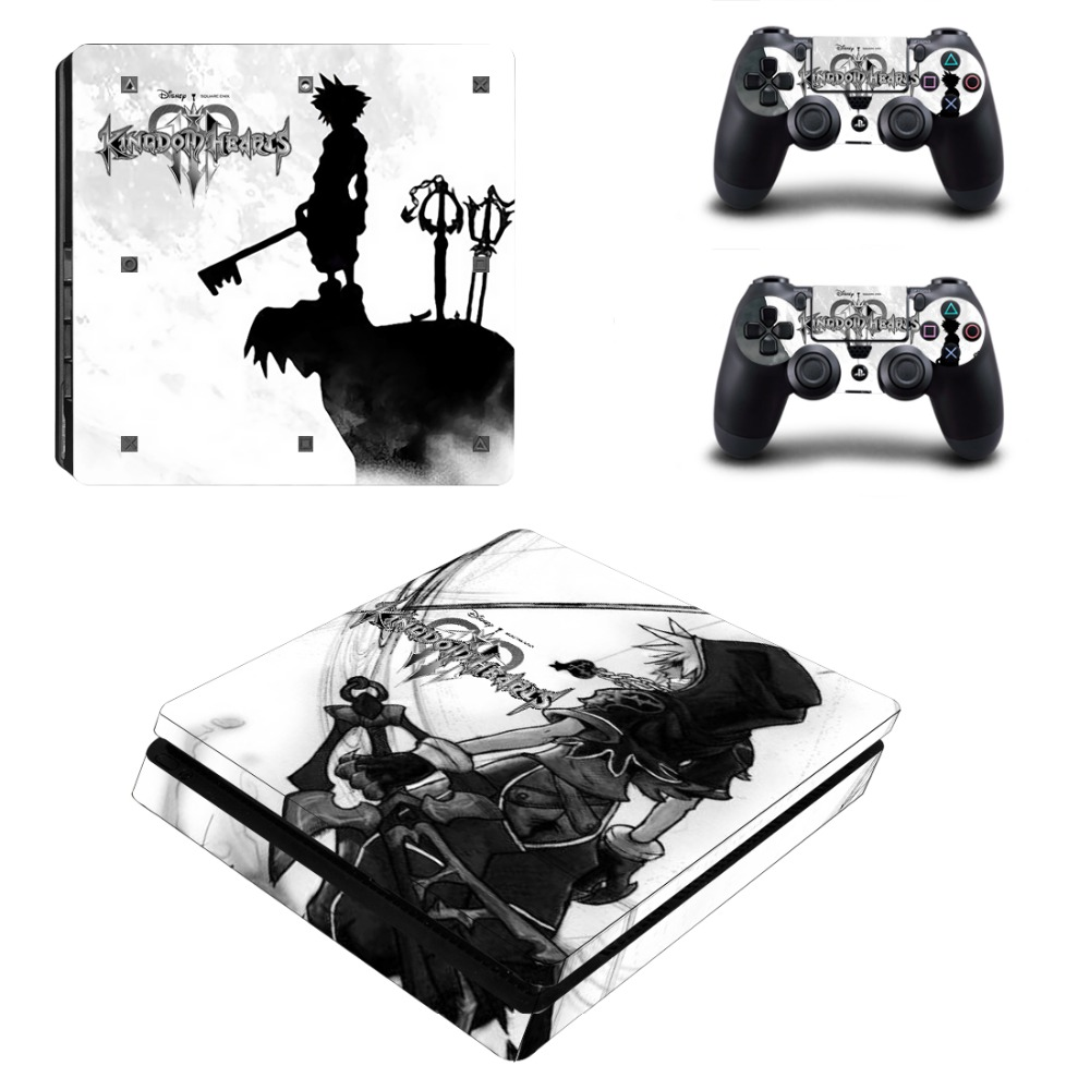 Faceplates, Decals & Stickers Video Games & Consoles Ps4 Slim Sticker Console Decal Playstation 4 Controller Vinyl Skin White