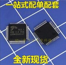 FE2.1 QFP48 USB2.0 HUB ชิปอินเทอร์เฟซ USB 100% ใหม่และต้นฉบับ