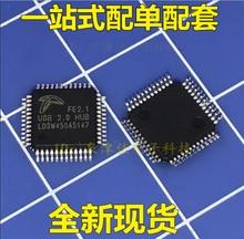 Fe2.1 qfp48 usb2.0 허브 usb 인터페이스 칩 100% 새롭고 독창적 인