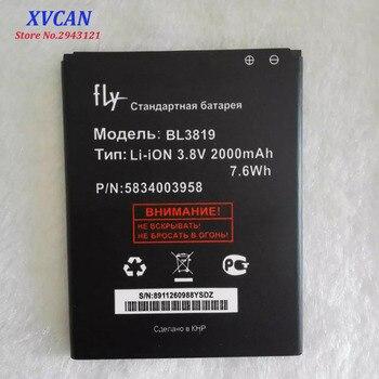 2019 de alta calidad BL3819 batería para Fly IQ4514 Quad EVO tecnología 4 Li-Ion 2000mAh Bateria de teléfono móvil batería Baterij en Stock