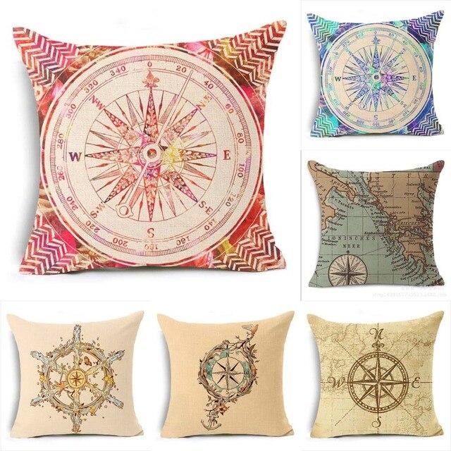 Oriental Decorative Pillows Case Cojines Decorativos Vintage Simple Oriental Decorative Pillows