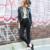 Venta caliente de La Manera Pantalones Vaqueros Del Lápiz de Mezclilla Mujer Ocasional Stretch Skinny Jeans Vintage Pantalones Vaqueros de Cintura Alta Mujeres Negro Azul Más El Tamaño