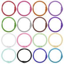 10 шт. металлические кольца для переплетения листов, кольца для книг, альбомы сделай сам, школьные канцелярские принадлежности, рукоделие, переплетные кольца для книг