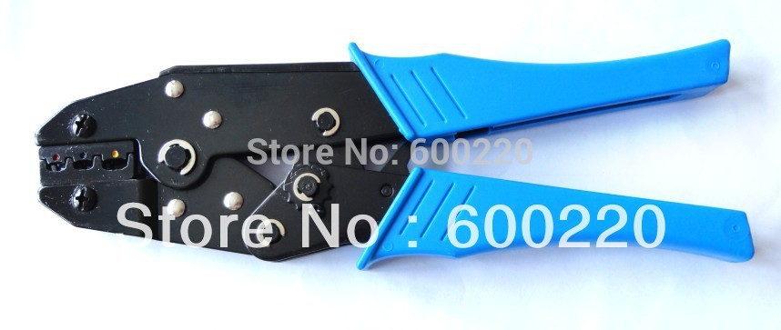 European type Crimping pliers for pre-insulated cable links and connector 0.5~6.0mm2 Blue or Red