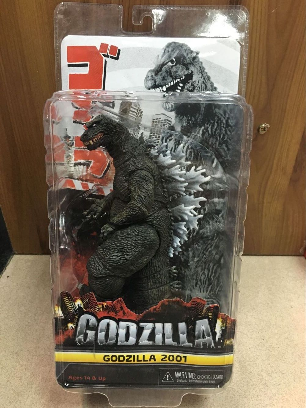 Free Shipping NECA Godzilla 2001 1954 PVC Action Figure Collectible Model Toy 8 20CM Classic Toy KT3378 free shipping neca official 1979 movie classic original alien pvc action figure collectible toy doll 7 18cm mvfg035