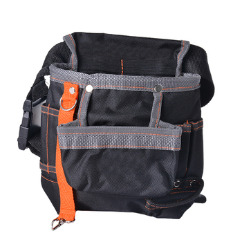 High-Quality Electrician Storage Tools Waist Belt bags Hardware Electrical Tool Bags Grey Edge Cloth packet