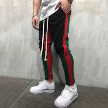 Casual Cotton Ankle-Length Men's Light Pants Mid Waist Pants Slim Men Pencil Pants Cotton Skinny Masculina Male Trousers D40 цена
