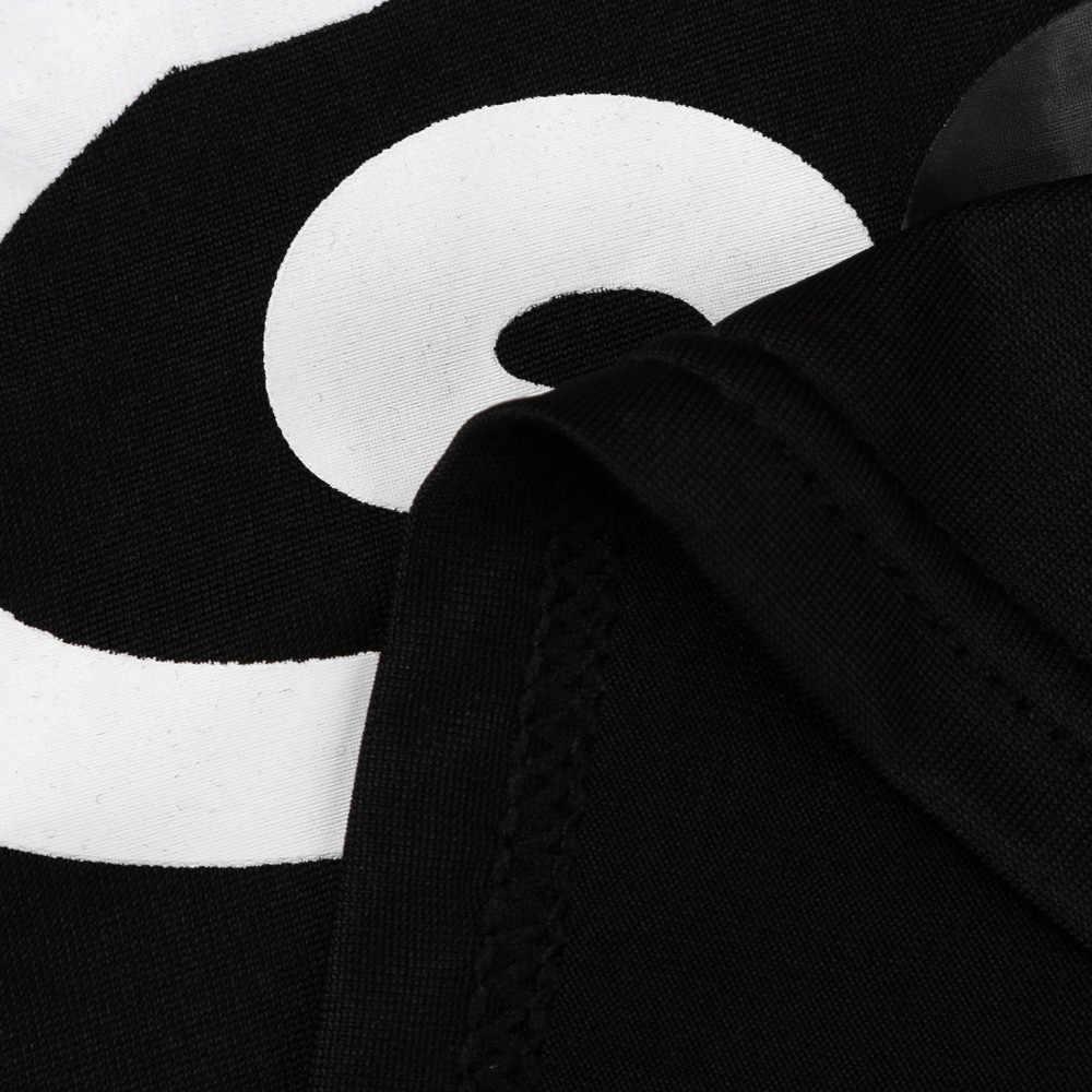 2018 캐주얼 봄 여름 여성 숙 녀 오프 어깨 고양이 사랑 인쇄 셔츠 긴 소매 탑 소프트 Femme Tees Dropshipping