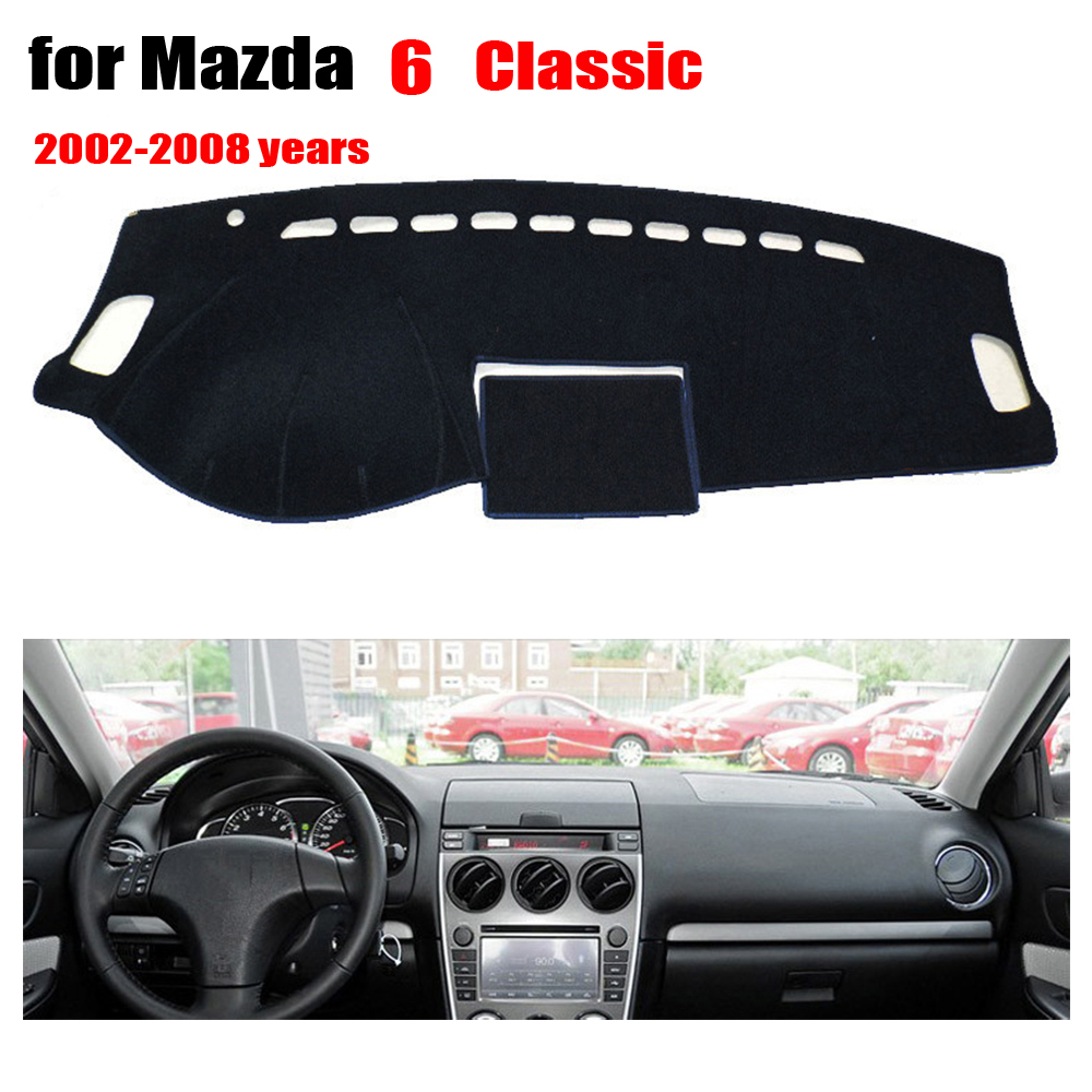2003 2008 Mazda 6 Wheels For Sale: Car Dashboard Covers Mat For Old MAZDA 6 2002 2008 Left Steering Wheel Dashmat Pad Dash Covers