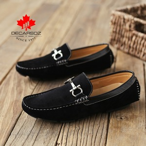 Image 3 - Men Loafers Shoes 2020 New Autumn Brand Comfy Male Footwear Moccasin Fashion Shoes Men Slip on Mens Flats Men Casual Shoes Man