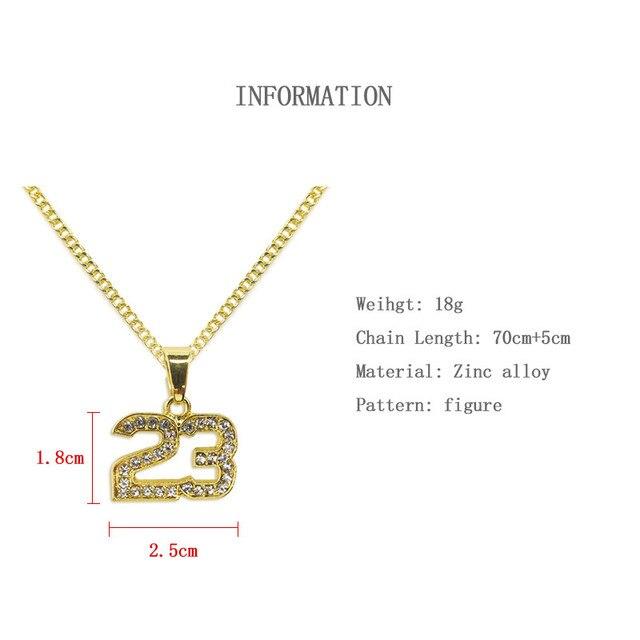 Number 23 Legend Necklaces 2