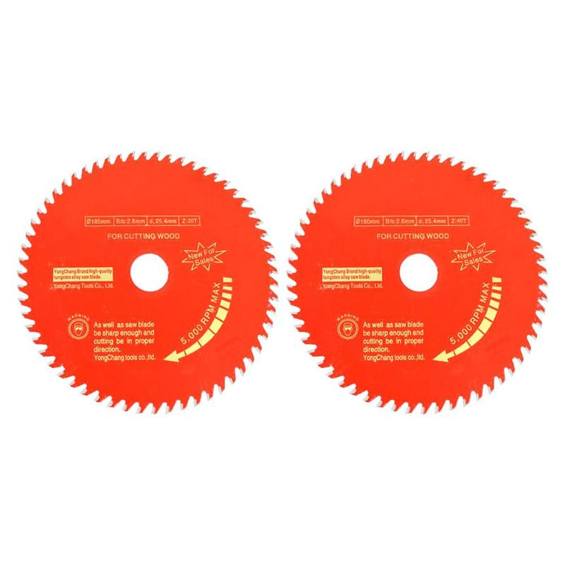 1PC Woodworking Round Saw Blade Wood Cutting Disc Aluminium Alloy Saw Blade Carbide Tipped Wood Cutting Disc 4x30T 4x40T