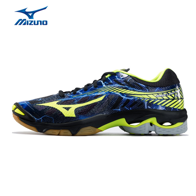 d7ce3faafd3d0 MIZUNO Men WAVE LIGHTNING Z4 Volleyball Shoes Cushion Stability Comfortable  Sports Shoes Breathable Sneakers V1GA180000 XYP625