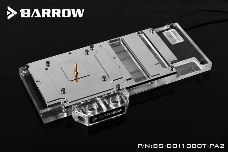 Barrow Colorful iGame GTX1070TI/1080Ti Vulcan AD iGame1080/1070 X-8GD5X-TOP GPU Water Block Full Coverage BS-COI1080T-PA2