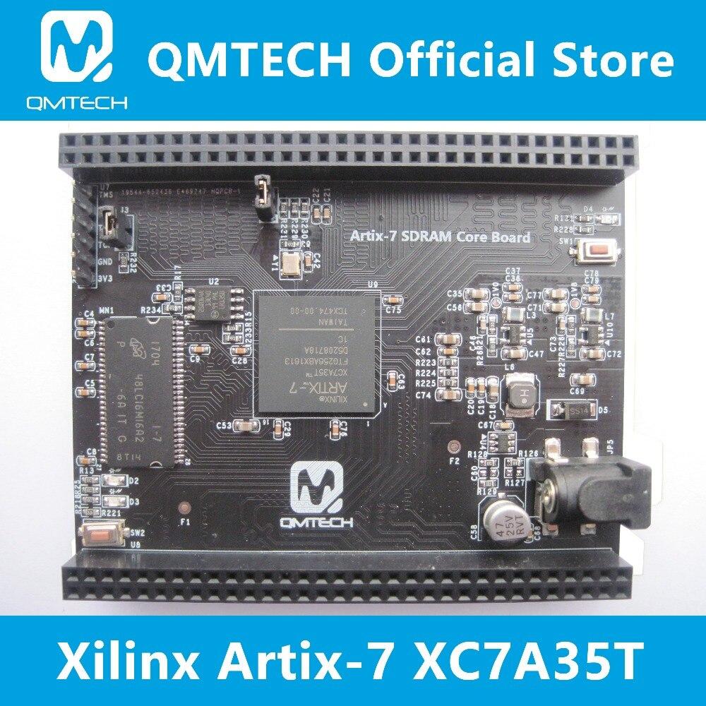 Competent Qmtech Xilinx Fpga Artix7 Artix-7 Core Board Xc7a35t 32mb Sdram Cheap Sales 50% Demo Board Accessories Demo Board & Accessories