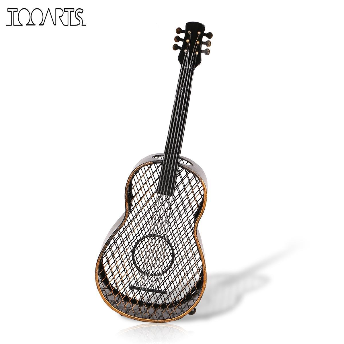 TOOARTS Guitar wine cork container Handcrafts Home decoration Decorations Practical crafts vintage home decor