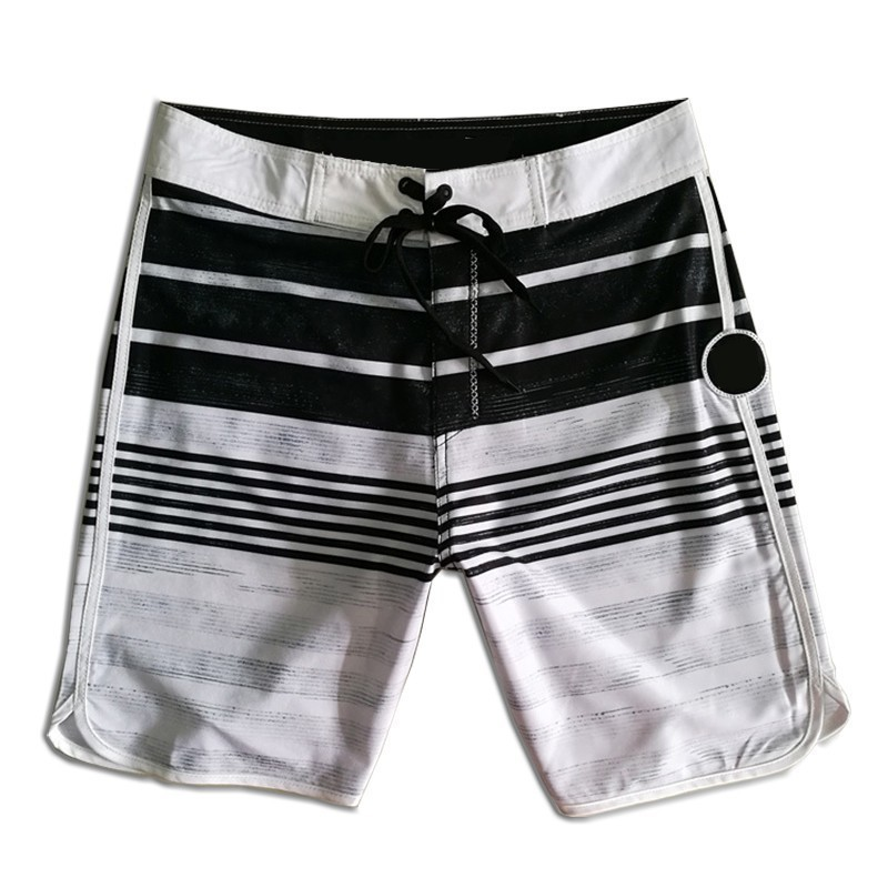2019 Summer New Brand   Board     Shorts   Mens Quick Dry Beach   Shorts   Elastic Surfing Fitness Gym   Short   Phantom Boardshorts with X logo