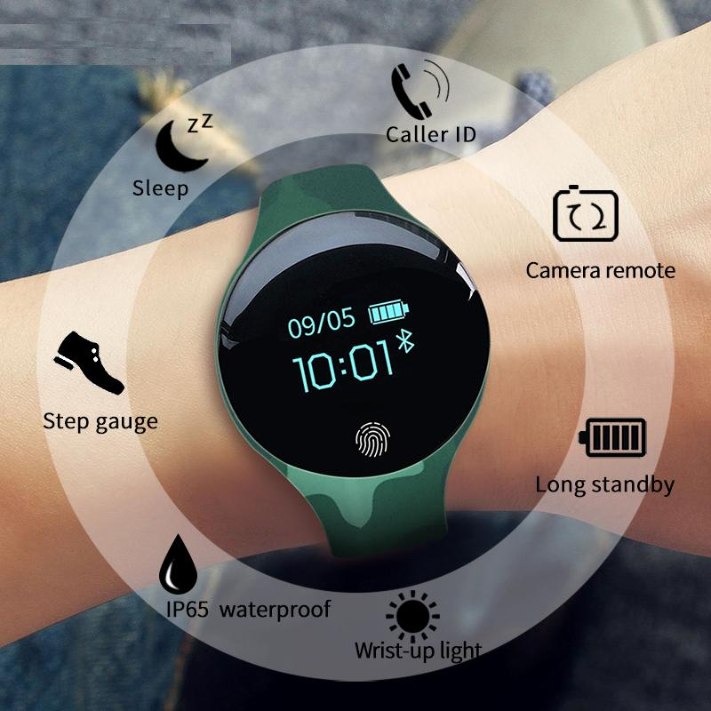 16168d612747 Reloj inteligente de pantalla táctil de Color SANDA para hombres con  detección de movimiento reloj inteligente deportivo para hombres y mujeres  dispositivos ...