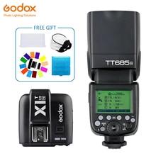Godox TT685 TT685N Speedlite Flash Wireless TTL+X1T-N Transmitter Wireless Flash Trigge for nikon Camera D800 d700 D7100 D700 цены