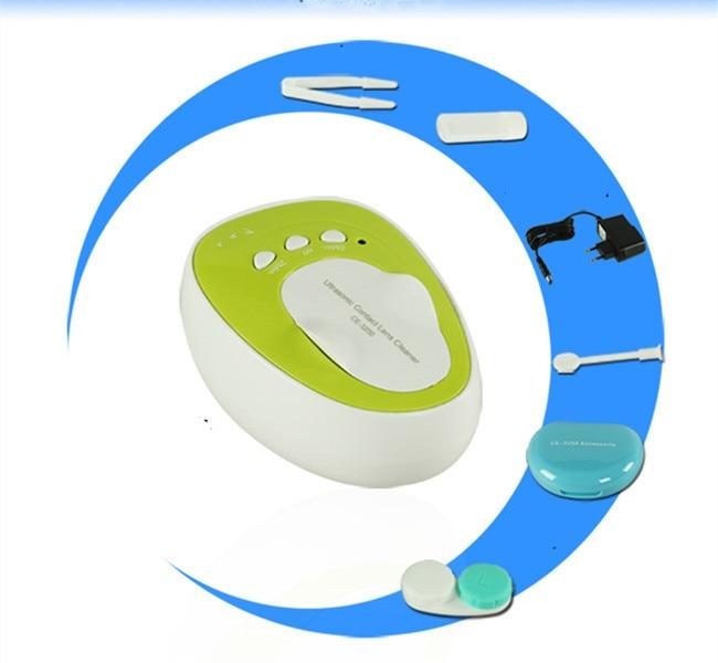 ФОТО New Portable Ultrasonic Contact Lens Cleaner Machine Sterilization Tool 100-240V GLTHSG2058-GLTHSG2060